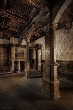 Abandoned Nursing Home Random Abandonings ~ ♥ #abandoned #ruins #architecture