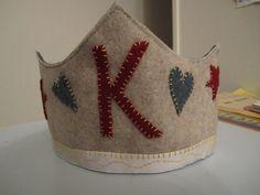 felt crown 8th Birthday, Birthday Crowns, Fabric Crown, Felt Crown, Paper Crowns, Woodland Fairy, Tiaras And Crowns, The Crown, Felt Crafts