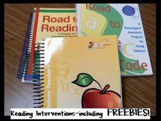 Reading Interventions & FREEBIES!