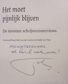 Frénk van der Linden bij FHJ, 2012