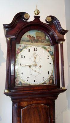 Dating longcase clock dials faces