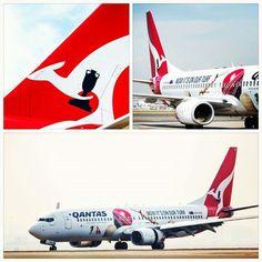 Qantas, Support Cricket Australia B737-800 Aircraft