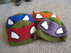 AWESOMENESS! ninja turtles crafts