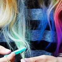 """""""Kisspat  Hair Chalk at Free People Clothing Boutique"""" If only I had blonde hair"""