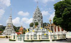 Prang, Royal Palace. Cambodja, Phnom Penh- Travelhype
