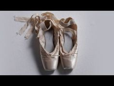A look at how ballerinas prepare their pointe shoes for a performance.