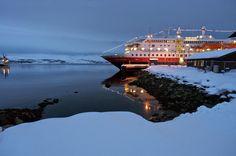 The Northern Lights in #Norway // Hurtigruten Cruises
