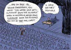 Writing Conference Comic - Writers Write Creative Blog
