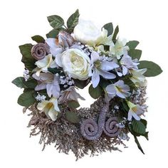 Kegyeleti koszorú – fehér/krém Floral Wreath, Wreaths, Home Decor, Floral Crown, Decoration Home, Door Wreaths, Room Decor, Deco Mesh Wreaths, Home Interior Design