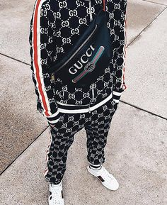 White Balenciaga Sneakers, Gucci Sneakers Outfit, Gucci Outfits, Gucci Jacket Mens, Gucci Men, Collection Louis Vuitton, Designer Tracksuits, Dynasty Clothing, Baskets Gucci