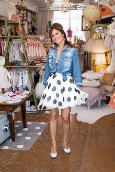 Pam DiCapo, owner of Lauren Alexandra boutique in Brookside