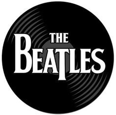 the beatles record mouse pad