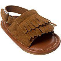 Nicetage Baby Summer Anti-slip Sneaker Toddler Cute First Walkers Shoes tassels Sandals