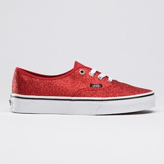 0d921409a819ff vans glitter - look at them and fall in love. Red Vans