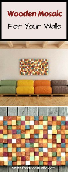 Modern Wood Wall Art, Handmade Contemporary Wall Decor, Easy Wall Hanging Wall Panel, Colorful Decorative Wood Slice for Centerpiece 3d Wall Panels, Panel Wall Art, Wooden Wall Art, Wooden Walls, Wooden Furniture, Wooden Window Valance, Diy Rustic Decor, Diy Cutting Board, Contemporary Wall Decor