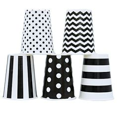 black&white - #party cups