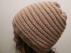 Bonnet homme torsades tricot / Beanie for man easy knit Bonnet Crochet, Crochet Hood, Crochet Beanie, Knitted Hats, Knit Crochet, Knitting Videos, Crochet Videos, Hand Knitting, Knitting Patterns