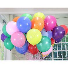 Nafukovací barevné balónky na párty 50 ks