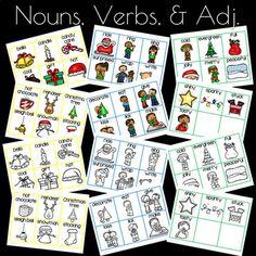 Roll'n Write Christmas - Sharing Kindergarten