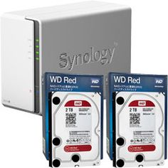 Synology DS216j-WR2T2 [高性能2ベイNAS DiskStation DS216j + WD Red 2TB WD20EFRX(2台)セット] の商品購入ページです。