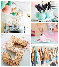 Cue The Confetti Themed Birthday Party