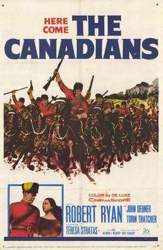 The Canadians (1961) - Robert Ryan DVD