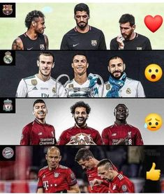 Ultimate football trio Football Photos, Football Gif, Sport Football, Messi, Barcelona Sports, Football Challenges, Manchester, Team Page, Europa League