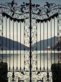 Ticino, Lake Lugano, Parco Civico Gate Lake View, Switzerland