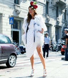 The cherry on top! Anna Dello Russo. Streetstyle