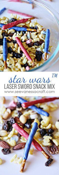 Star Wars™ Snack Mix Recipe #AwakenYourTastebuds #ad