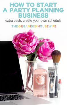 Party planning is a great option to create a stream of income into your home, particularly if you are wanting extra cash, without getting a job out of the home. I've shared my top tips on How to start a party planning business + you can WIN one of 3 The Body Shop® Virgin Mojito Ice Bucket Gifts.