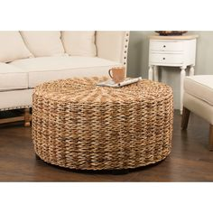 Features: -Perfect conversation starter. -Abaca rope weave construction…