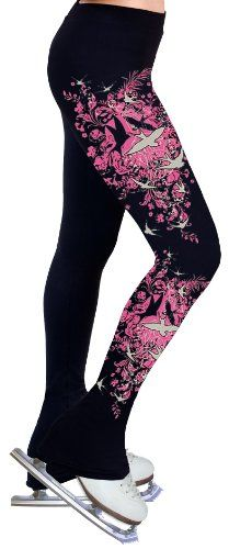 Ice Figure Skating Dress Practice Pants P07 - Adult Extra Small $49.99