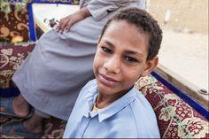 Africa: Siwa berber boy, Egypt