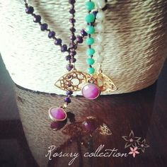Twiniñas Rosary Collection  #twiniñas #twininas #rosary #collection #rosaries #aw1415 #christmas #mood #fashion #girls #blogging #love #ss15 #etsy #shop #etsyfind #etsyhunters #loveit #purple #green #iridescent #golden #eye #crystal #cream #necklaces Christmas Gift For You, Unique Christmas Gifts, Christmas Mood, Cream Necklaces, Rosaries, Handmade Jewellery, Ss 15, Iridescent, Jewelry Collection