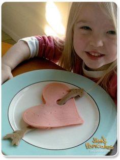 valentine pancakes!