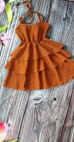 Frocks For Girls, Kids Frocks, Dresses Kids Girl, Cute Little Girls Outfits, Toddler Outfits, Kids Outfits, Baby Girl Dress Patterns, Baby Dress, Girls Fashion Clothes