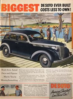 Vintage 1937 Dodge Trucks Trucks magazine ad that has been carefully extracted from Life Magazine. Measures approximately 10.5 inches wide x 14 inches tall. This is an original from the magazine, not