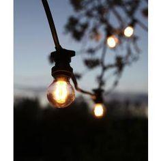 Venkovní světelný řetěz na 10 žárovek