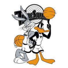 Space Jam Bugs And Daffy Tune Squad Women& Sweatshirt - Grey - XXL - Grey-female Dope Cartoons, Dope Cartoon Art, Looney Tunes Wallpaper, Cartoon Wallpaper, 00s Mode, Looney Tunes Space Jam, Tune Squad, Looney Tunes Characters, Daffy Duck