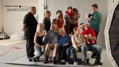 Soldier gets last minuet leave for the holidays during deployment. Surprises whole family during a photoshoot at wife's photo studio.