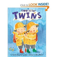 Two is for Twins - another fun books to read to my twins.