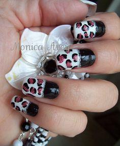 unhas decoradas nails by monibela, via Flickr