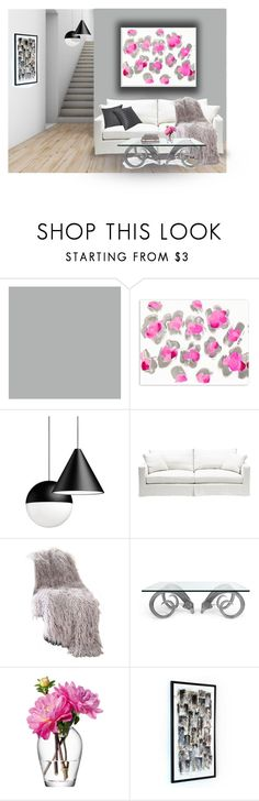 """""""Untitled #209"""" by jchilcote ❤ liked on Polyvore featuring interior, interiors, interior design, home, home decor, interior decorating, Oliver Gal Artist Co., Flos, Best Home Fashion and Jonathan Adler"""