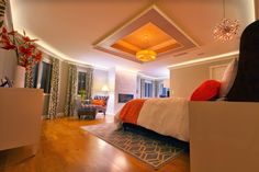 Ultimate Guide to Bedroom Ceiling Lights Traba Homes 50 Blue Master Bedroom Ideas Photos Contemporary Orange Master Bedroom with Canopy Bed. Blue Master Bedroom, Small Room Bedroom, Room Decor Bedroom, Bed Room, Bedroom Ideas, Bedroom Ceiling, Bedroom Lighting, Tumblr Bedroom, Wardrobe Design Bedroom