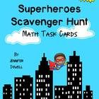 There are 12 superhero task cards that have math word problems that have multiplication, division, tables, patterns, addition, and subtraction. Some of the problems are multistep. These questions are worded similar to state assessment exams.