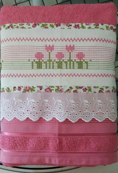 Swedish Weaving, Valance Curtains, Needlework, Embroidery, Home Decor, Videos, Party Stuff, Tela, Crochet Flowers