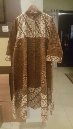 Long dress batik tulis parang lawasan dan batik tulis gurdo lawasan