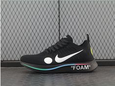 29f21aefda OFF WHITE X Nike Zoom Fly Mercurial Flyknit Black AO2115-001 Check out from  https
