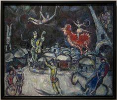Marc Chagall (1887 – 1985) Le cirque sur fond noir 1967 Huile sur toile de lin Dation 1988 PARIS Centre Pompidou Marc Chagall, Grand Palais, Art Moderne, Belle Photo, Centre Pompidou, Images, Painting, Paris, House